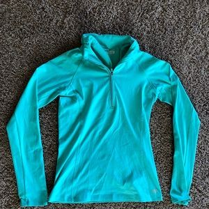 Green Forever 21 spandex sweater